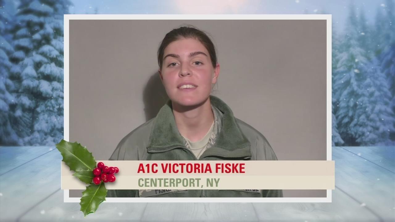 Troop Greetings: A1C Victoria Fiske