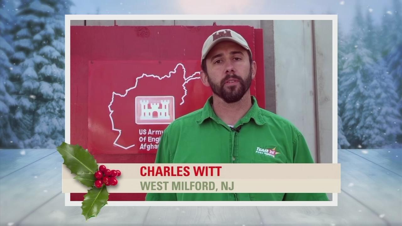 Troop Greetings: Charles Witt