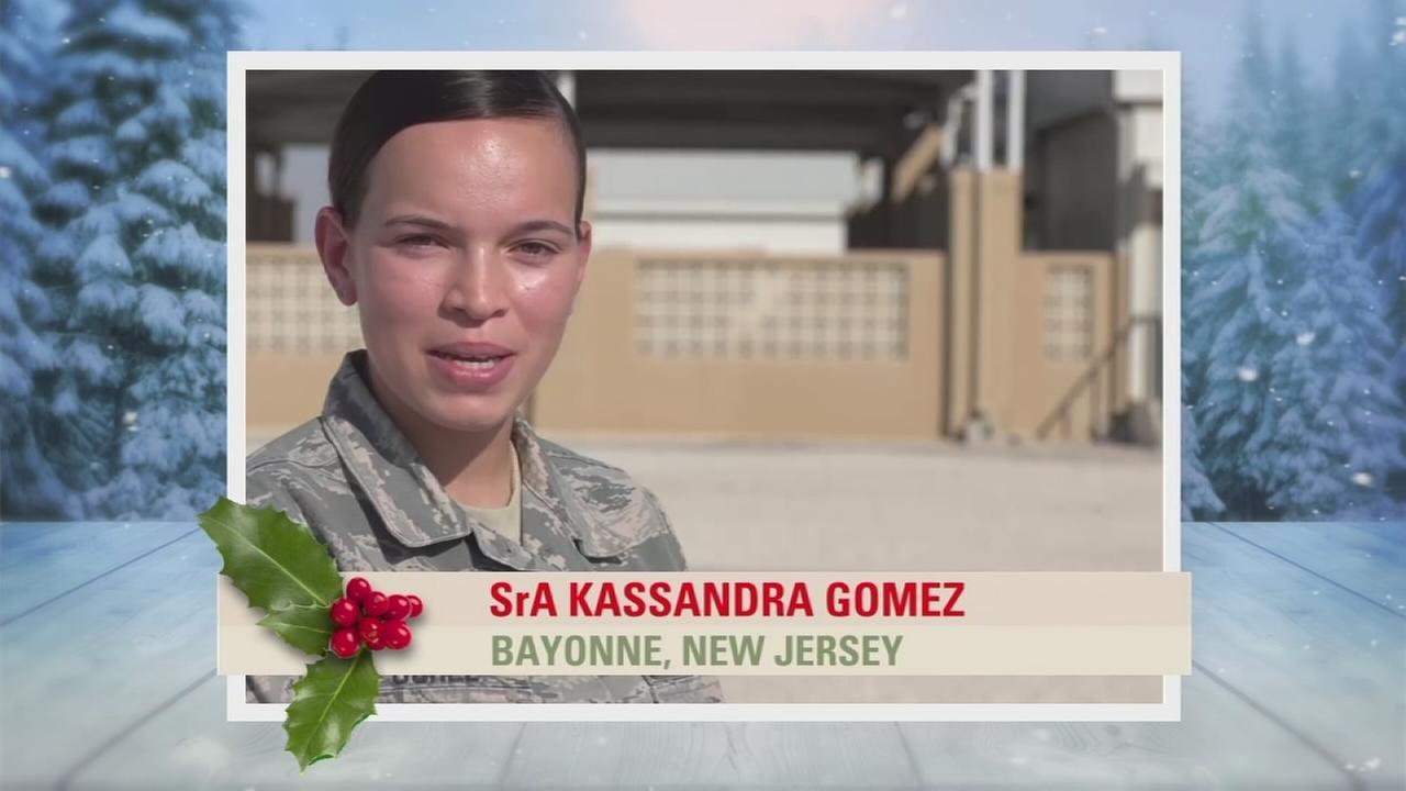 Troop Greetings: SrA Kassandra Gomez
