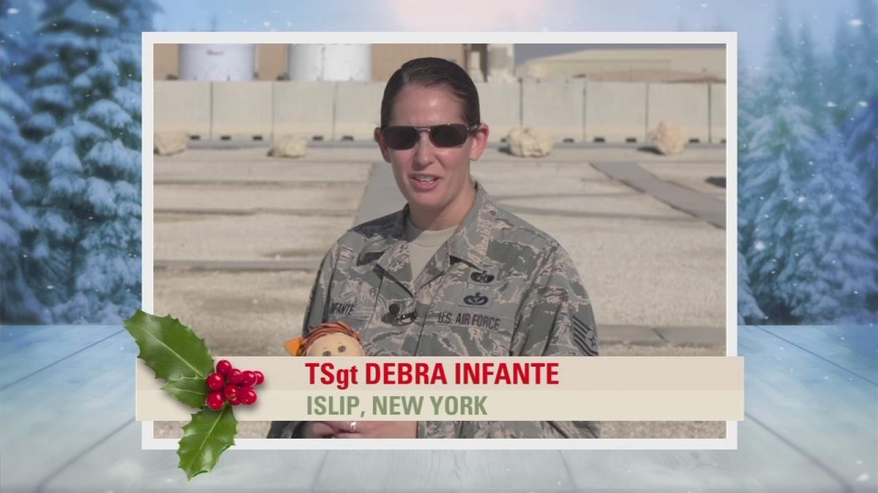 Troop Greetings: TSgt Debra Infante