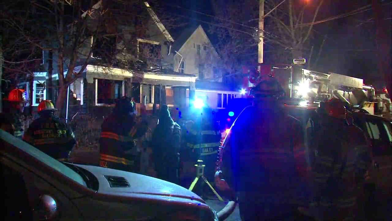 A 2-alarm fire rekindled overnight on Staten Island.