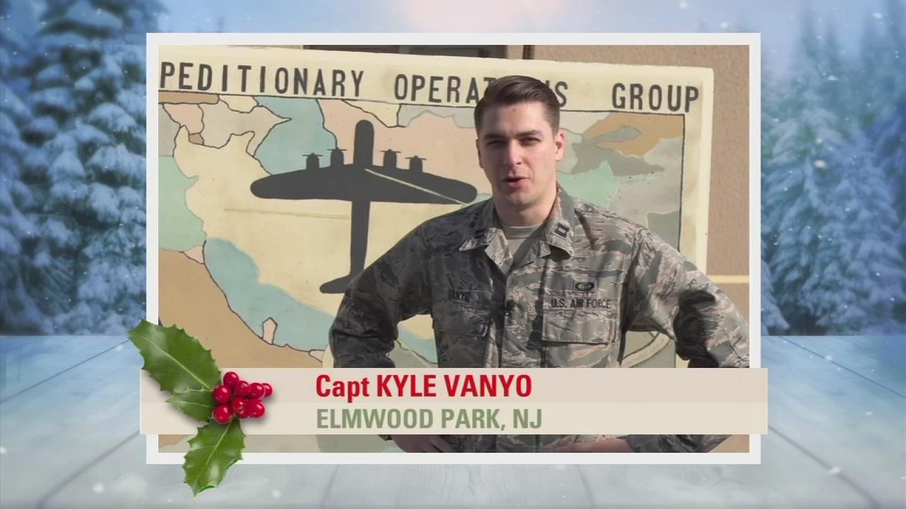 Troop Greetings: Capt Kyle Vanyo