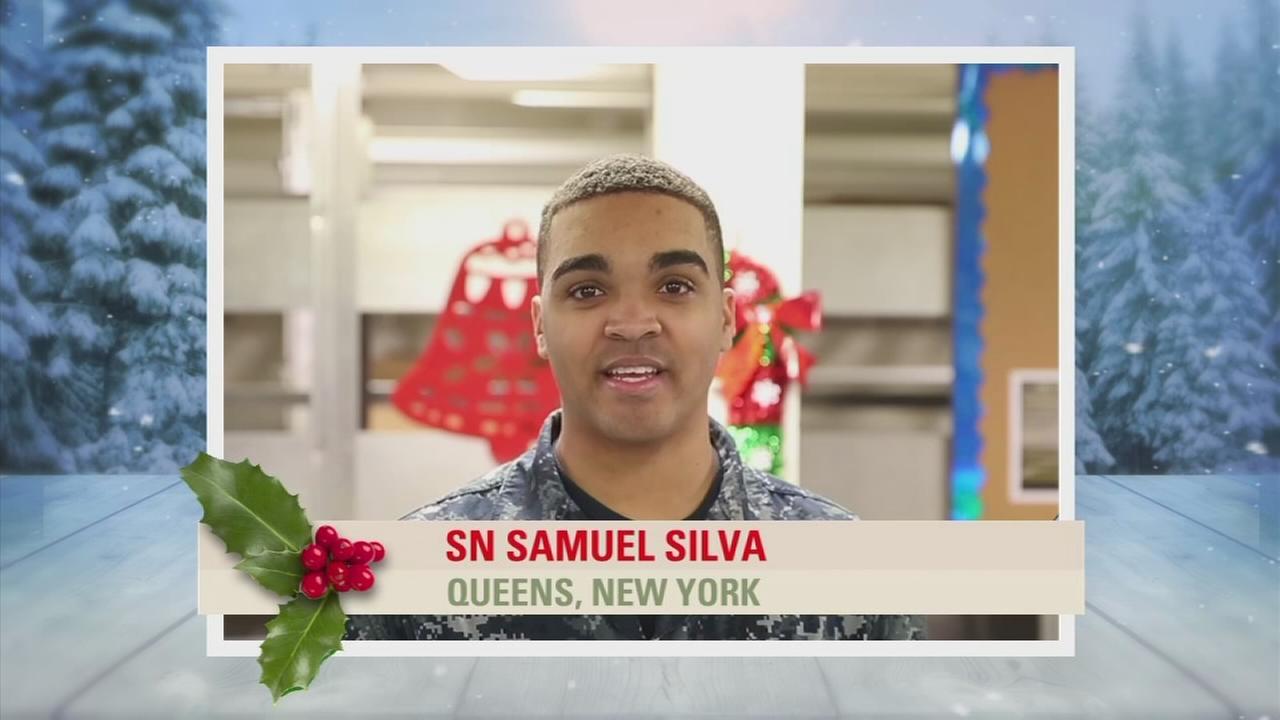 Troop Greetings: SN Samuel Silva