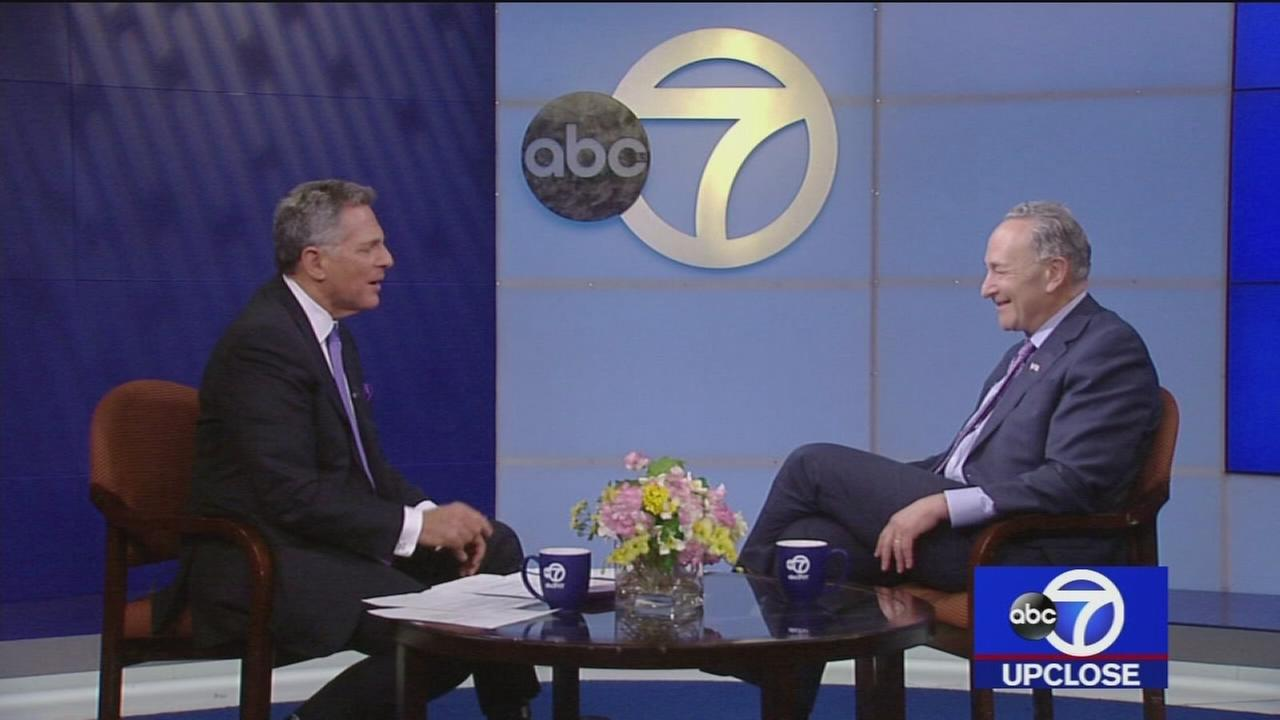 Up Close: Sen. Charles Schumer