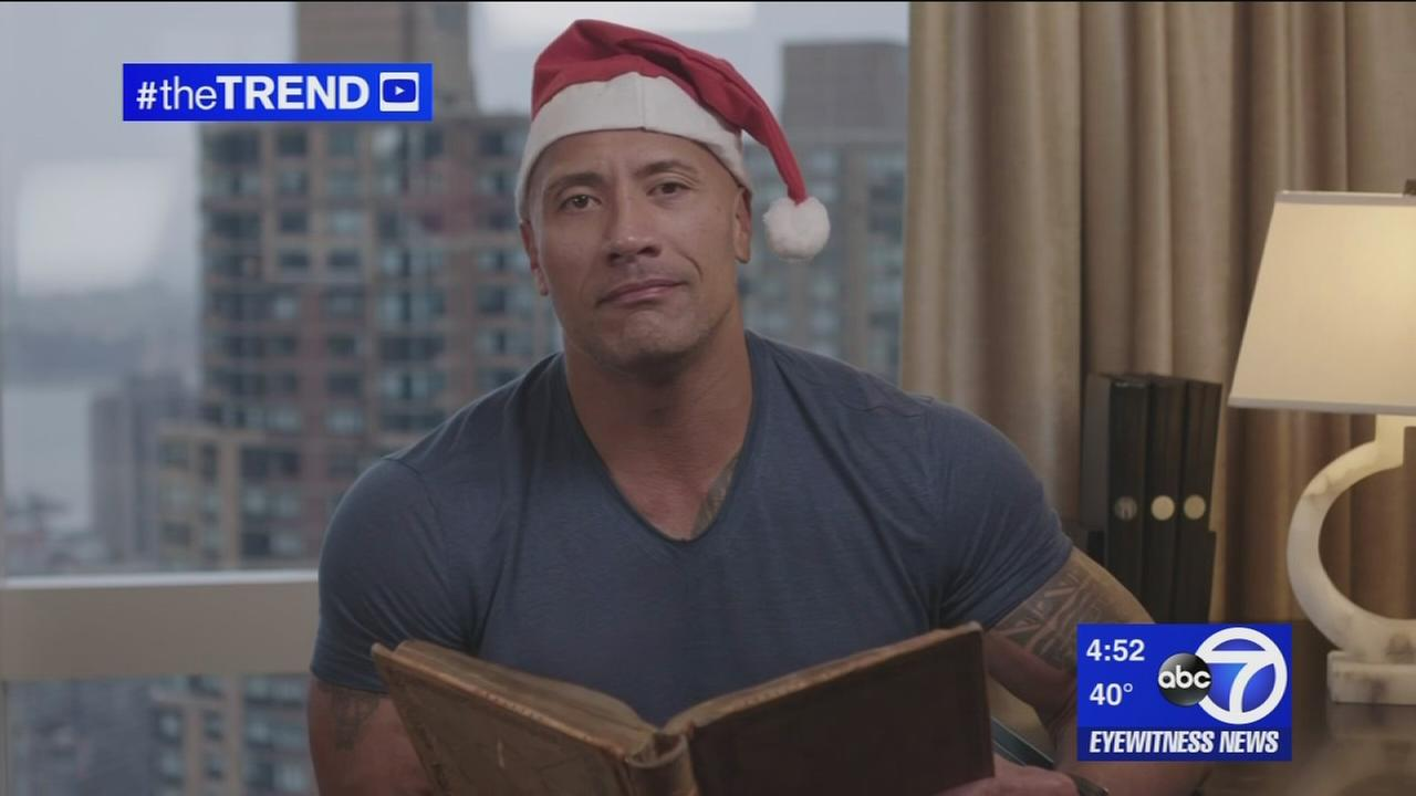 The Trend: The Rock reads a holiday tale