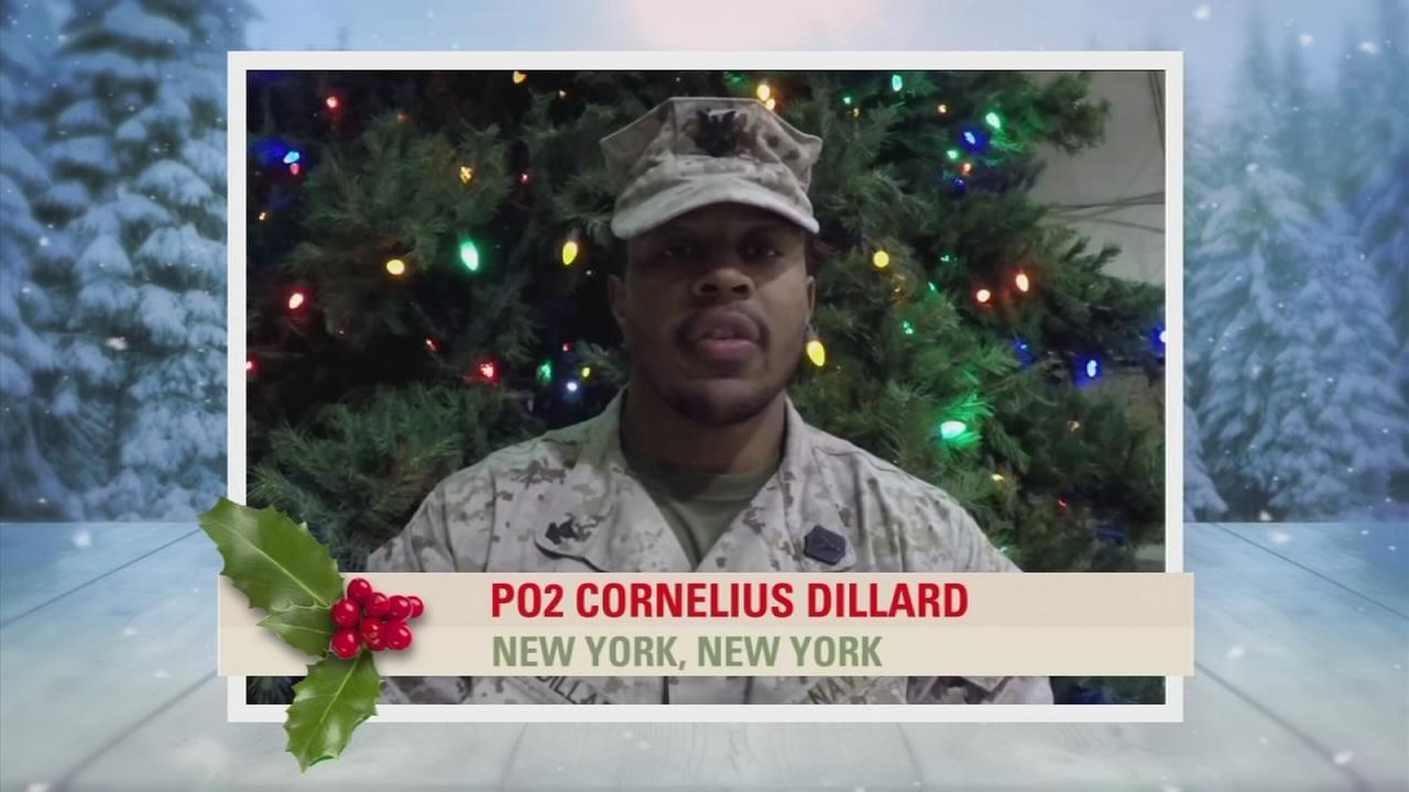 Troop Greetings: PO2 Cornelius Dillard