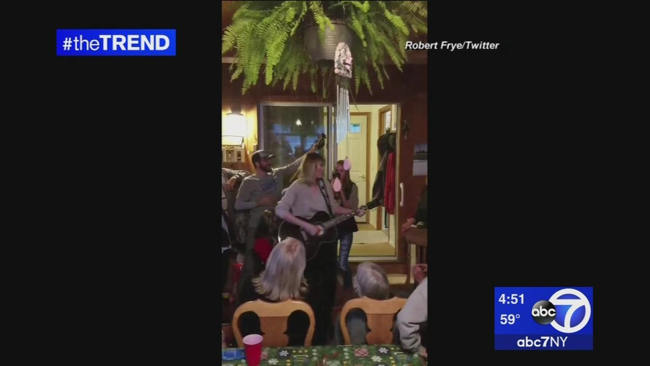 The Trend: Taylor Swift Surprises 96-year-old WWII veteran on birthday