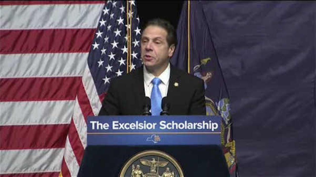 Gov. Cuomo announced a proposal for free tuition at New York public colleges.