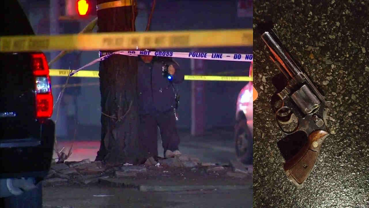 An man is dead after a police-involved shooting in Prospect Heights.