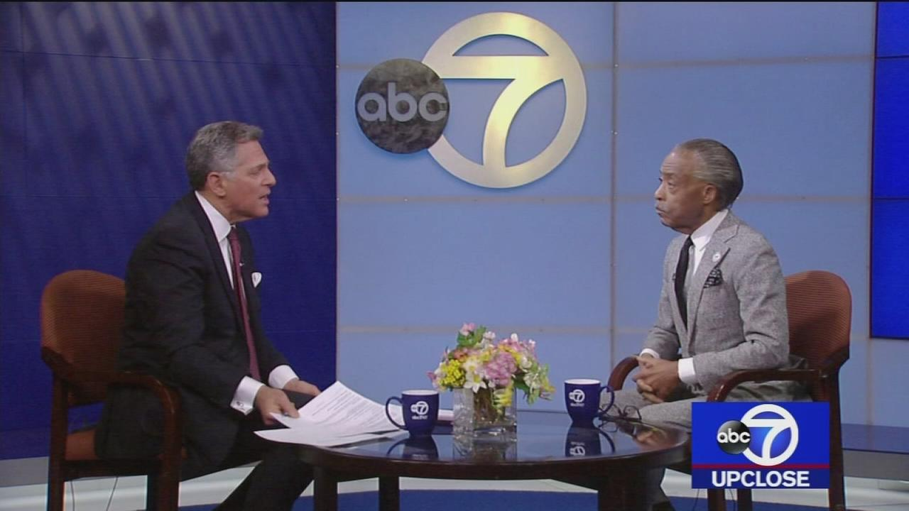 Up Close: Rev. Al Sharpton