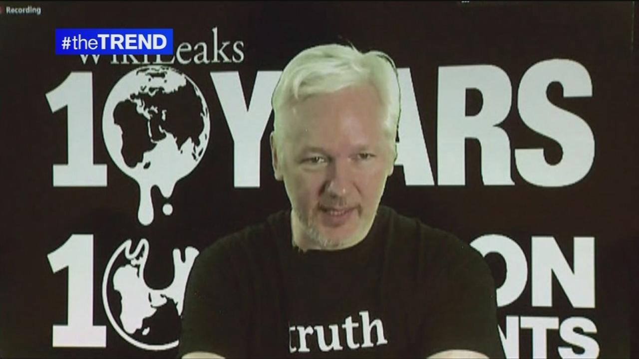 The Trend: Julian Assange takes questions on Reddit AMA