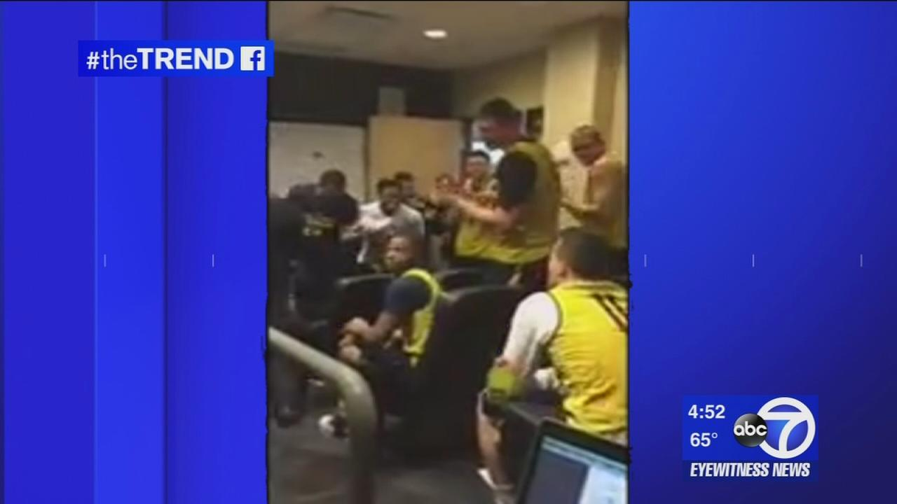 The Trend: Michigan basketball player surprised with scholarship for season