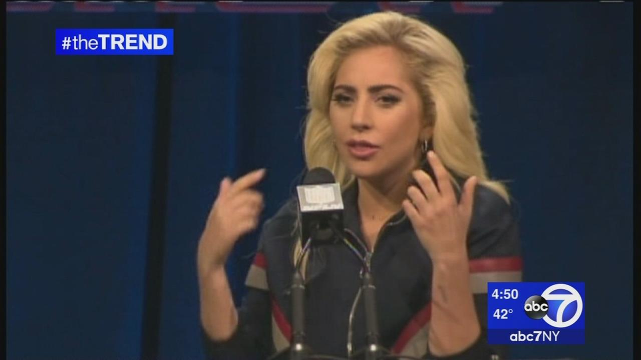 The Trend: Lady Gaga holds press conference before Super Bowl