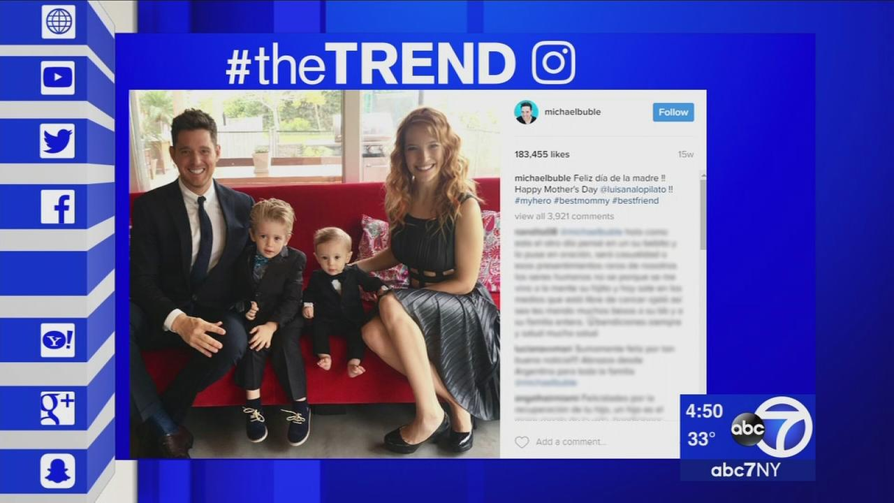 The Trend: Michael Bubles sons battle against cancer