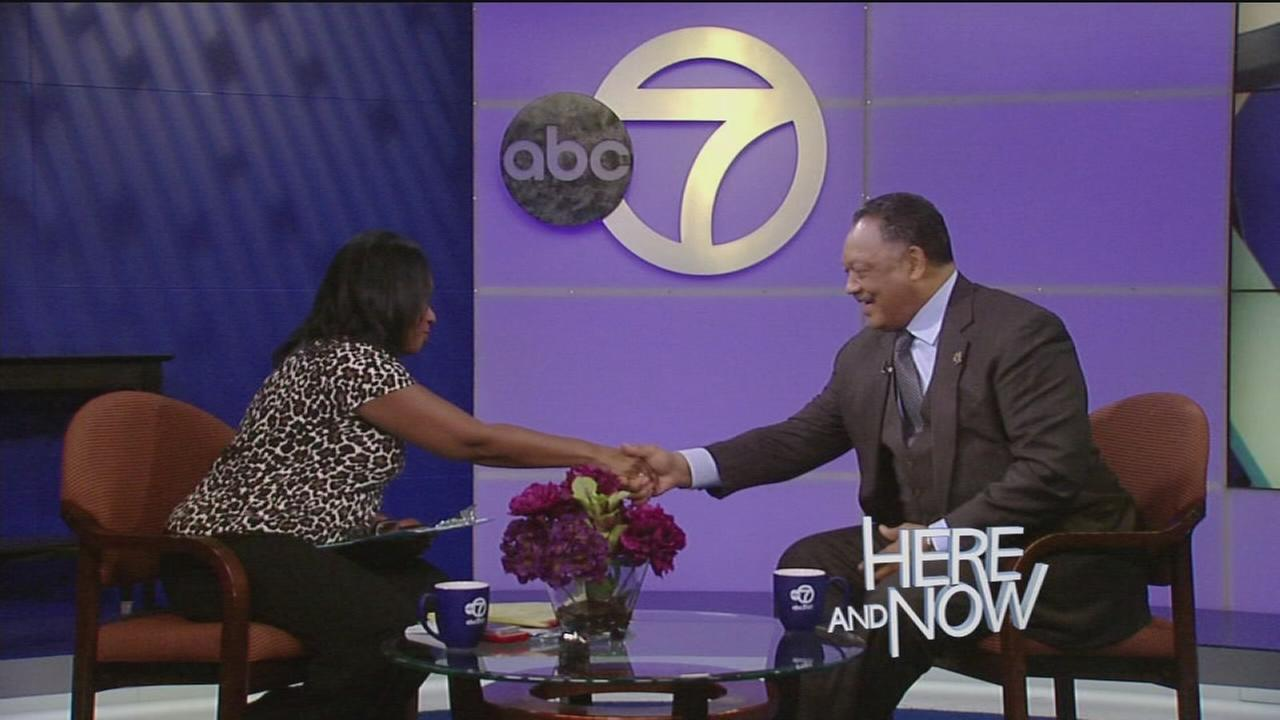 Here and Now on February 5, 2017: The Rev. Jesse Jackson