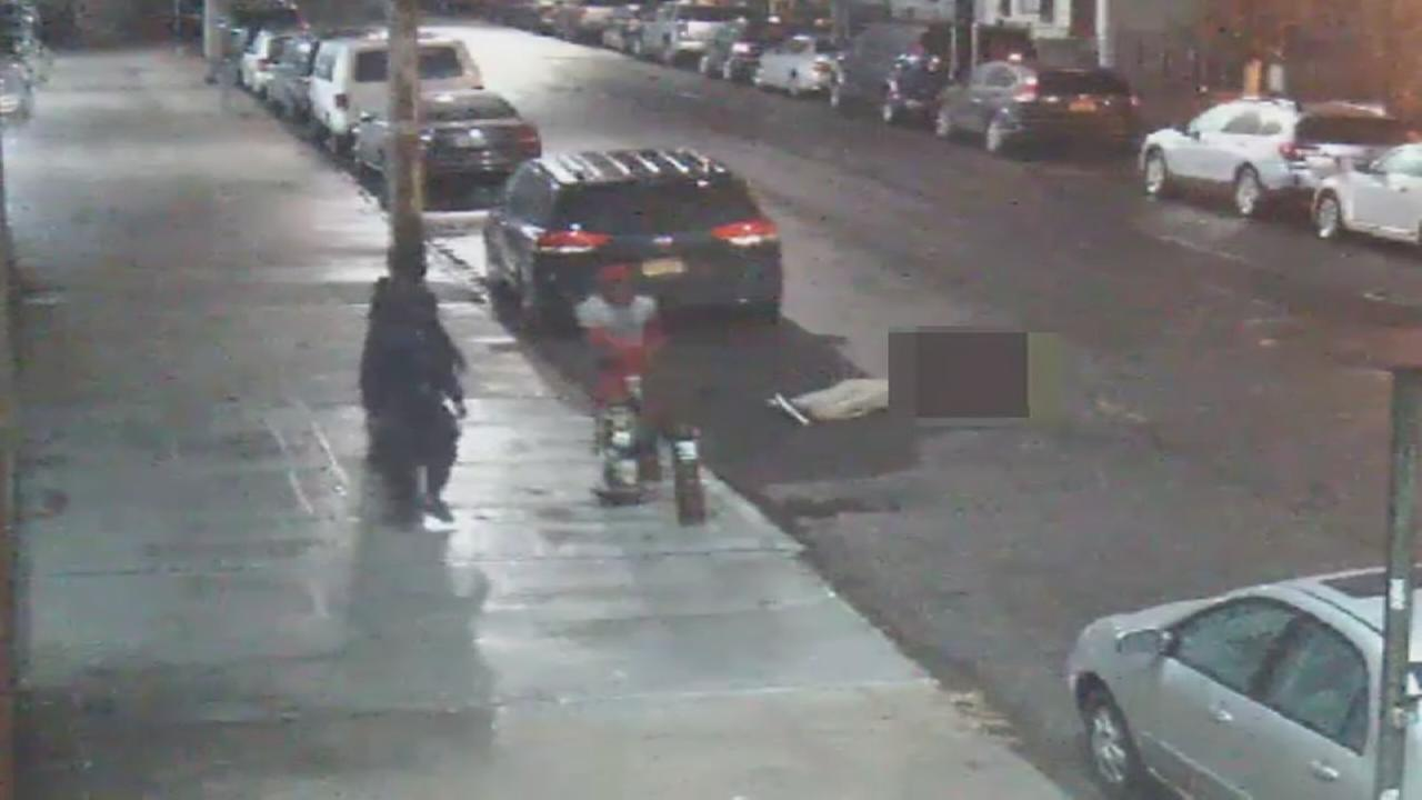 Police say 3 men mugged, robbed man in Brooklyn.