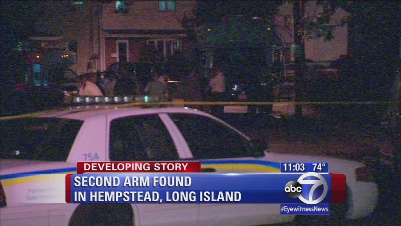 Second arm found in Hempstead