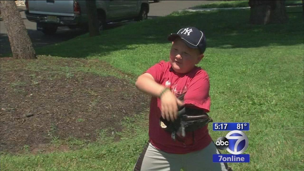 Boy loses arm to cancer, doesnt put dreams on hold