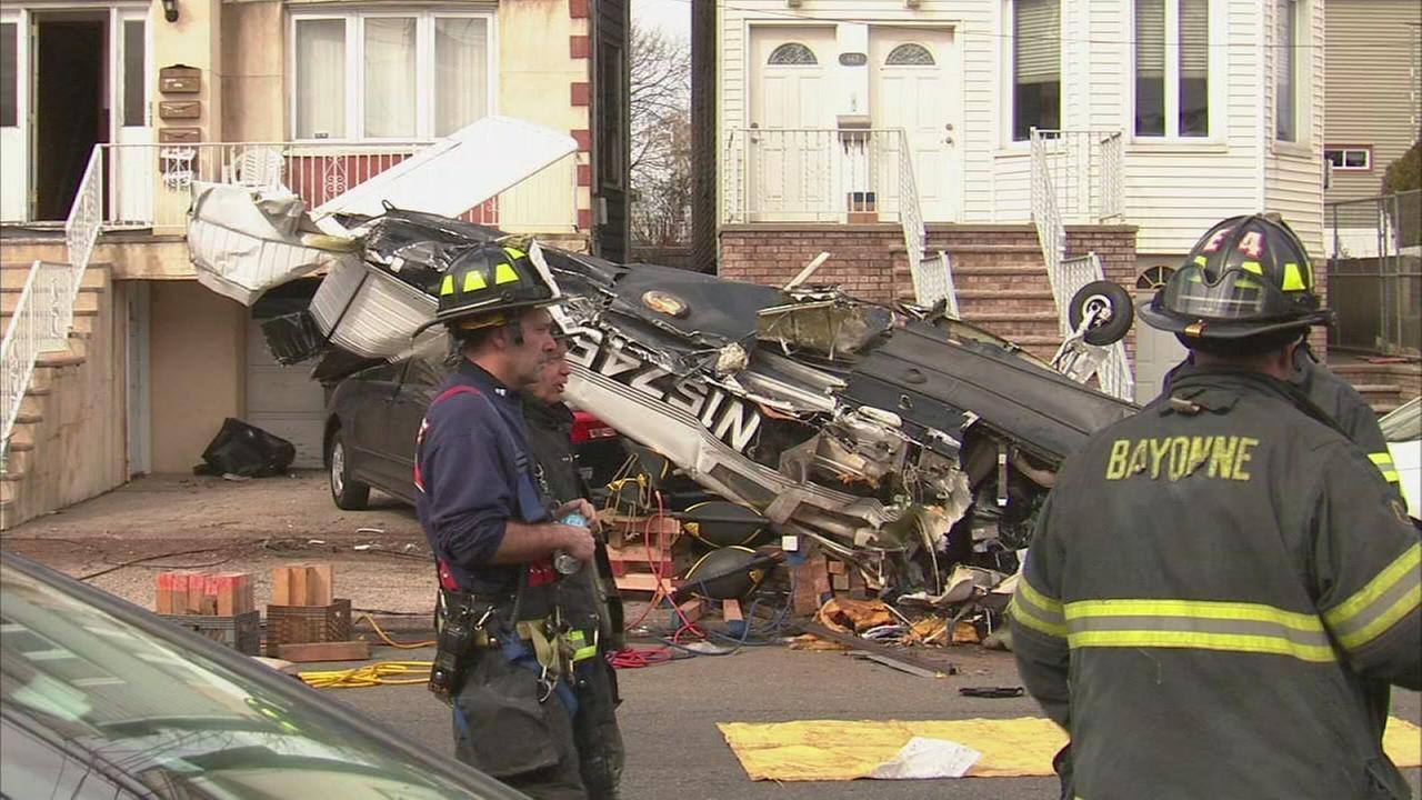 911 calls released from Bayonne plane crash