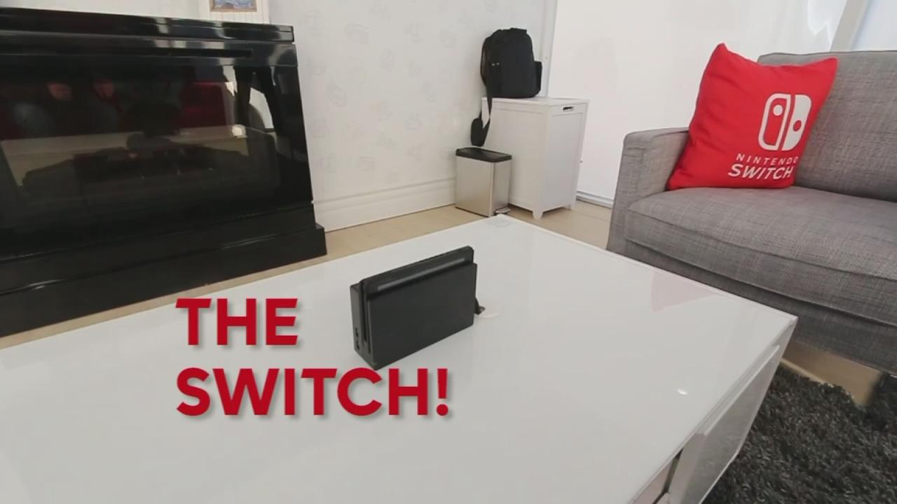 Checking out the Nintendo Switch