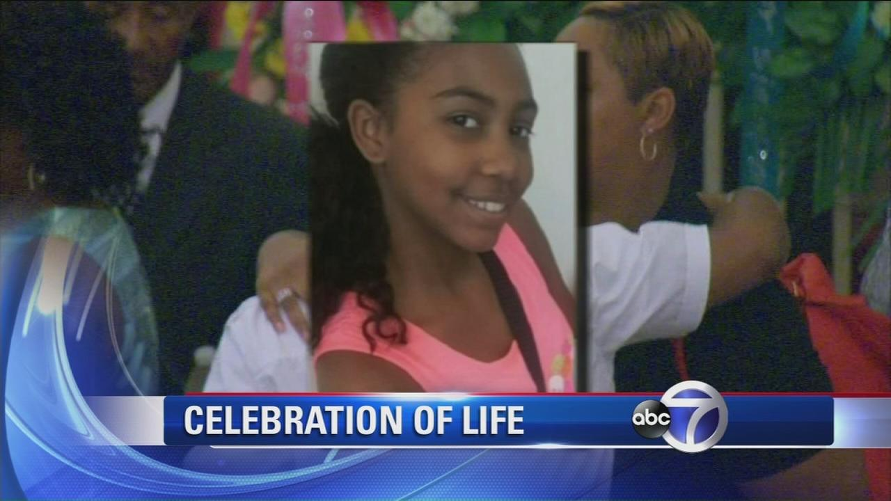 Funeral held for Paterson girl killed by stray bullet