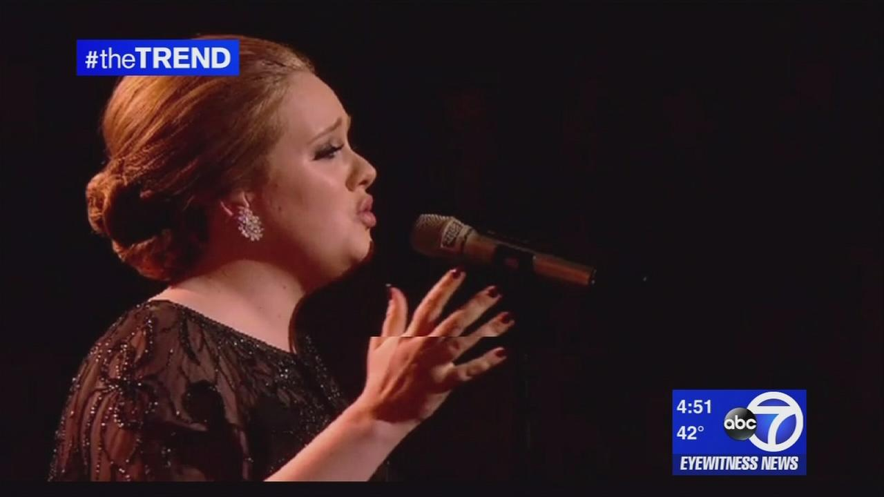 The Trend: Adele announces her marriage with long-time partner