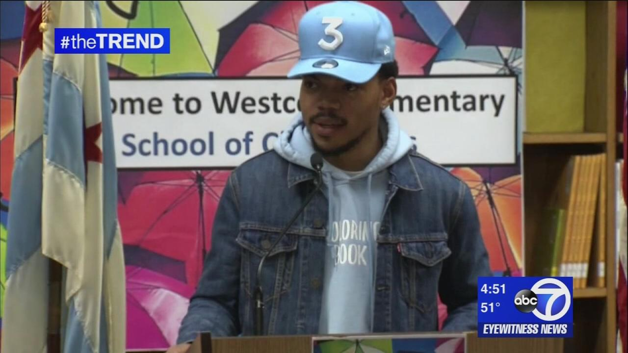 The Trend: Chance the Rapper gives back to Chicago in a big way
