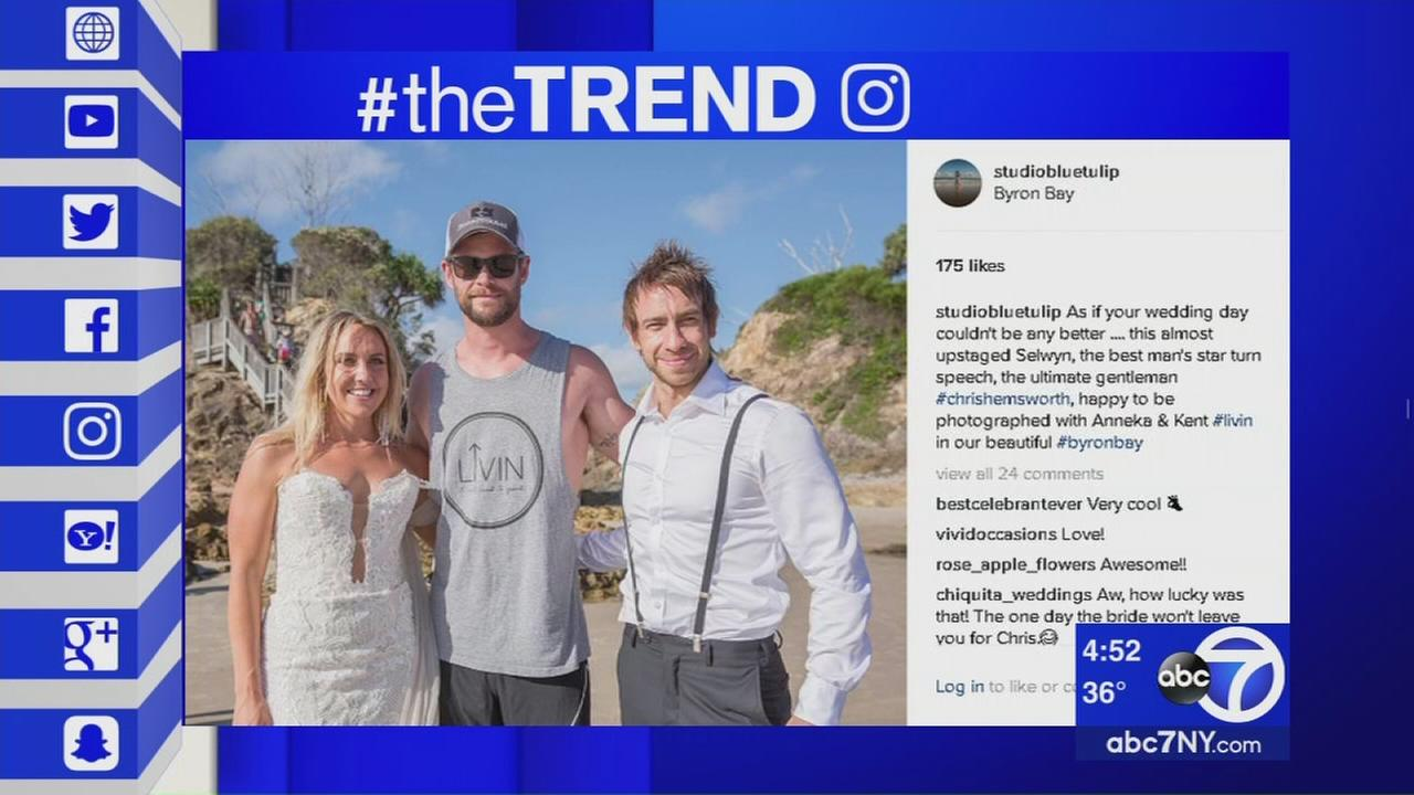 The Trend: Thor crashes couples photo session