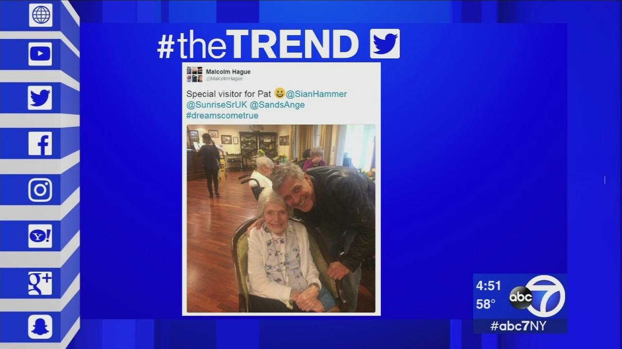 The Trend: George Clooney surprises fan in nursing home for her birthday