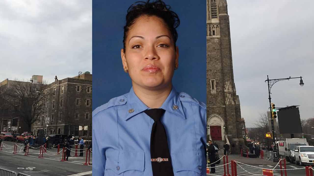 A funeral to be held today for FDNY EMT Yadira Arroyo