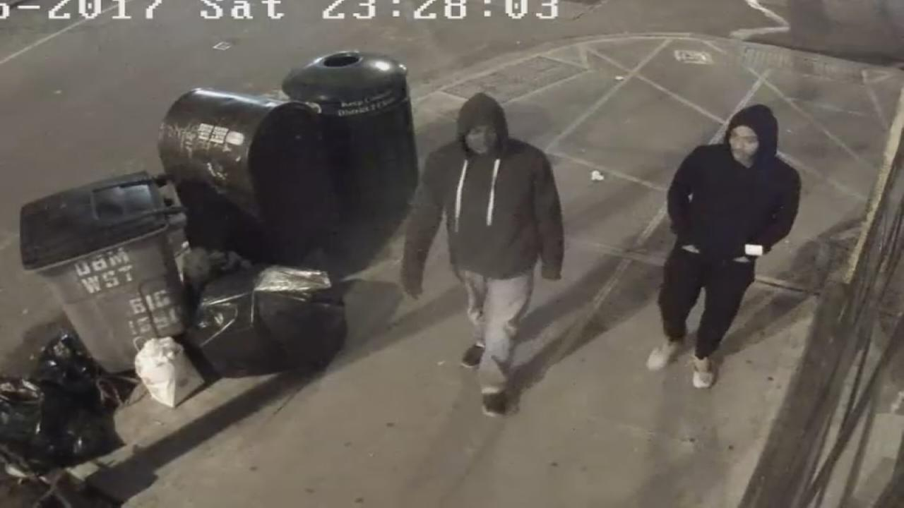 2 men wanted in robbery of restaurant owner
