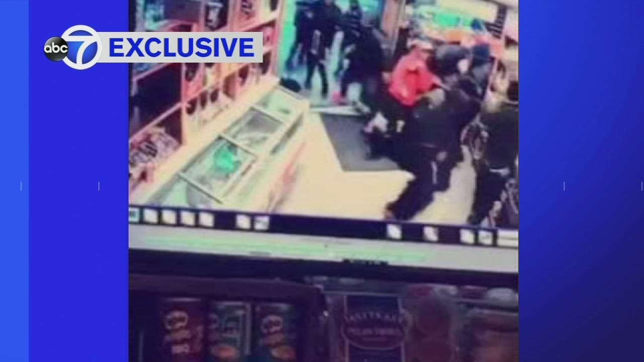 Argument leads to double shooting inside Brooklyn deli