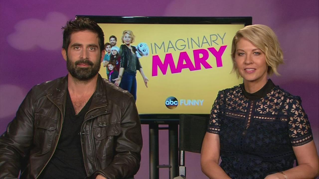 Jenna Elfman and Stephen Schneider talk about starring in 'Imaginary Mary'