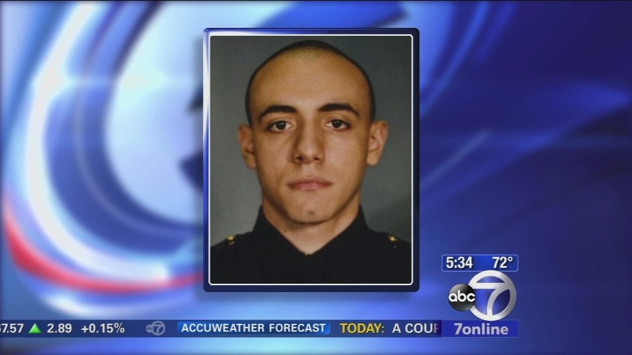 Jersey City mourns death of rookie officer