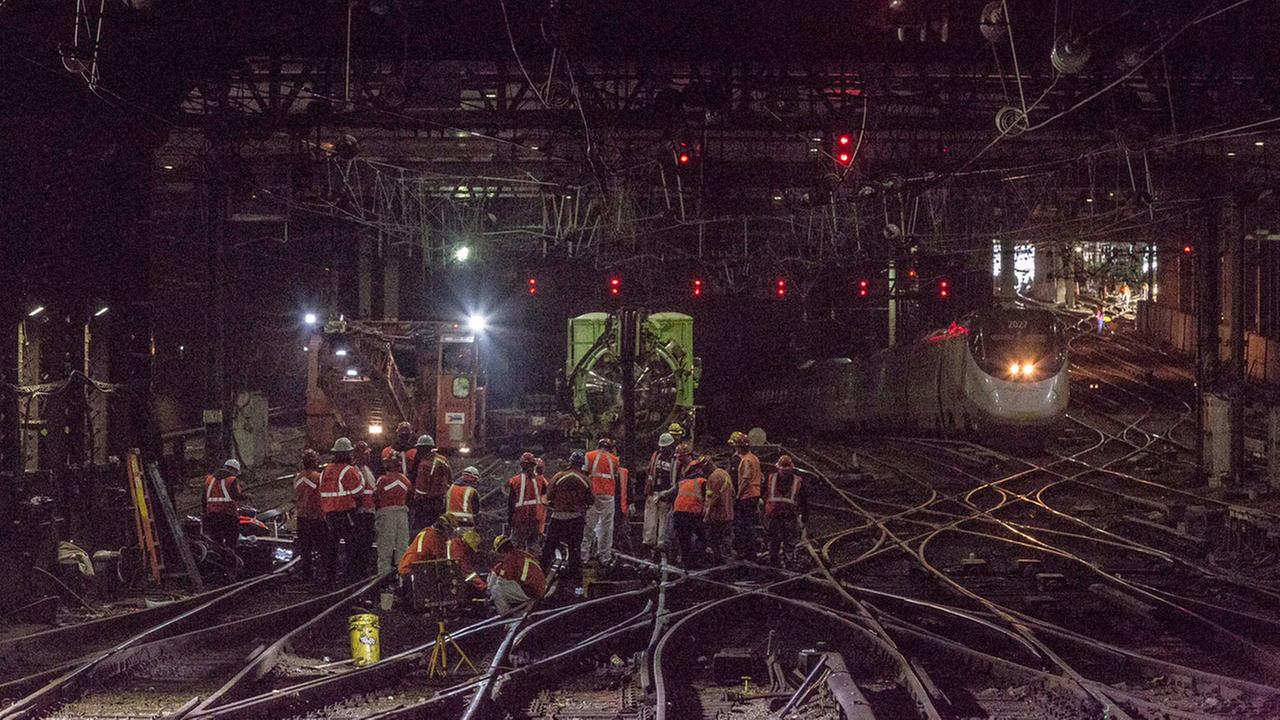 Next phase of Amtrak construction begins at Penn Station