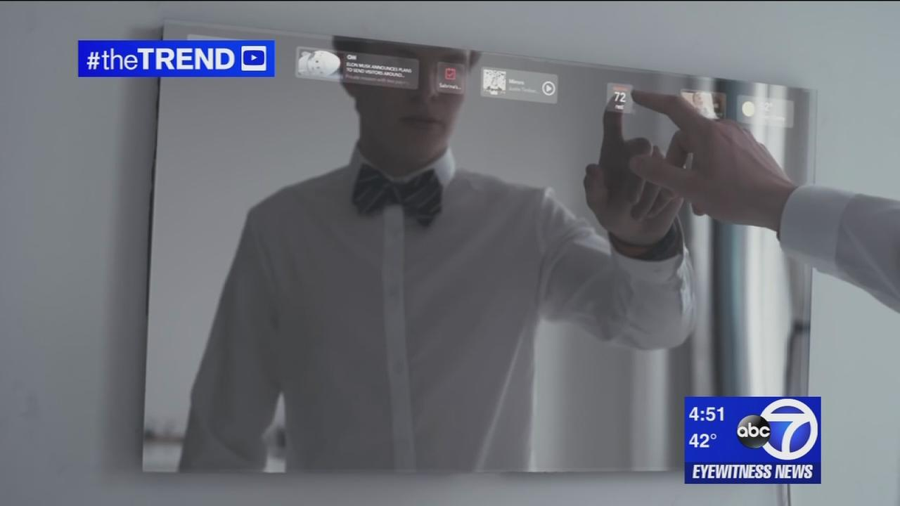 The Trend: This smart mirror is a social media sensation