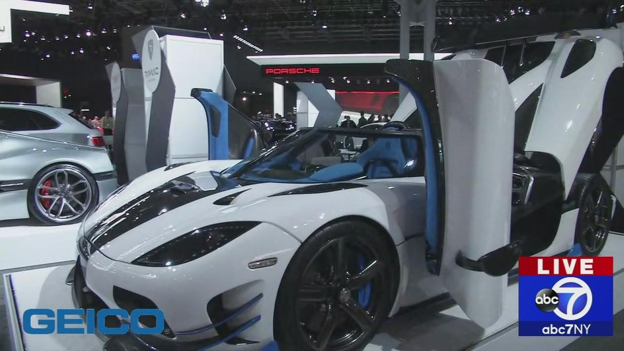 New York Auto Show: High Performance Cars