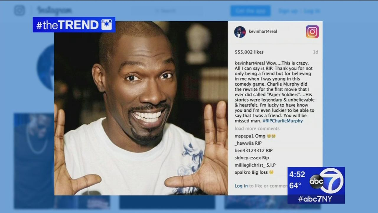 The Trend: Celebrities continue to mourn death of Charlie Murphy