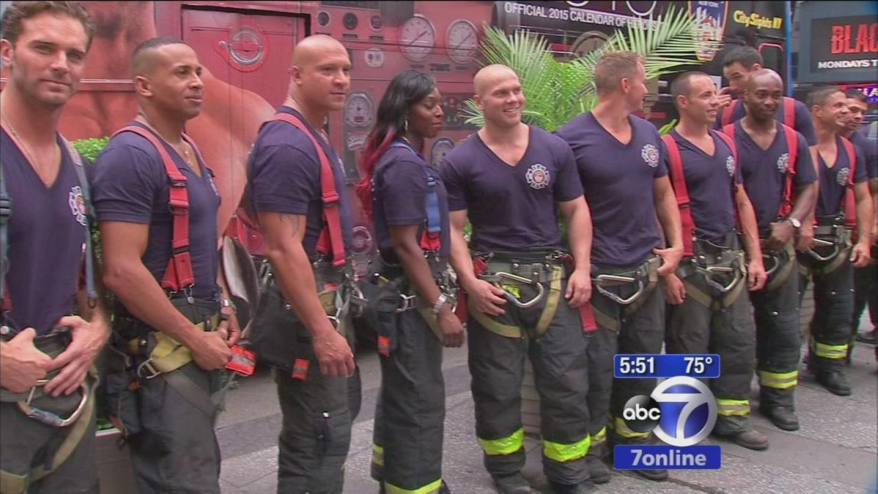 FDNY releases calendar for charity