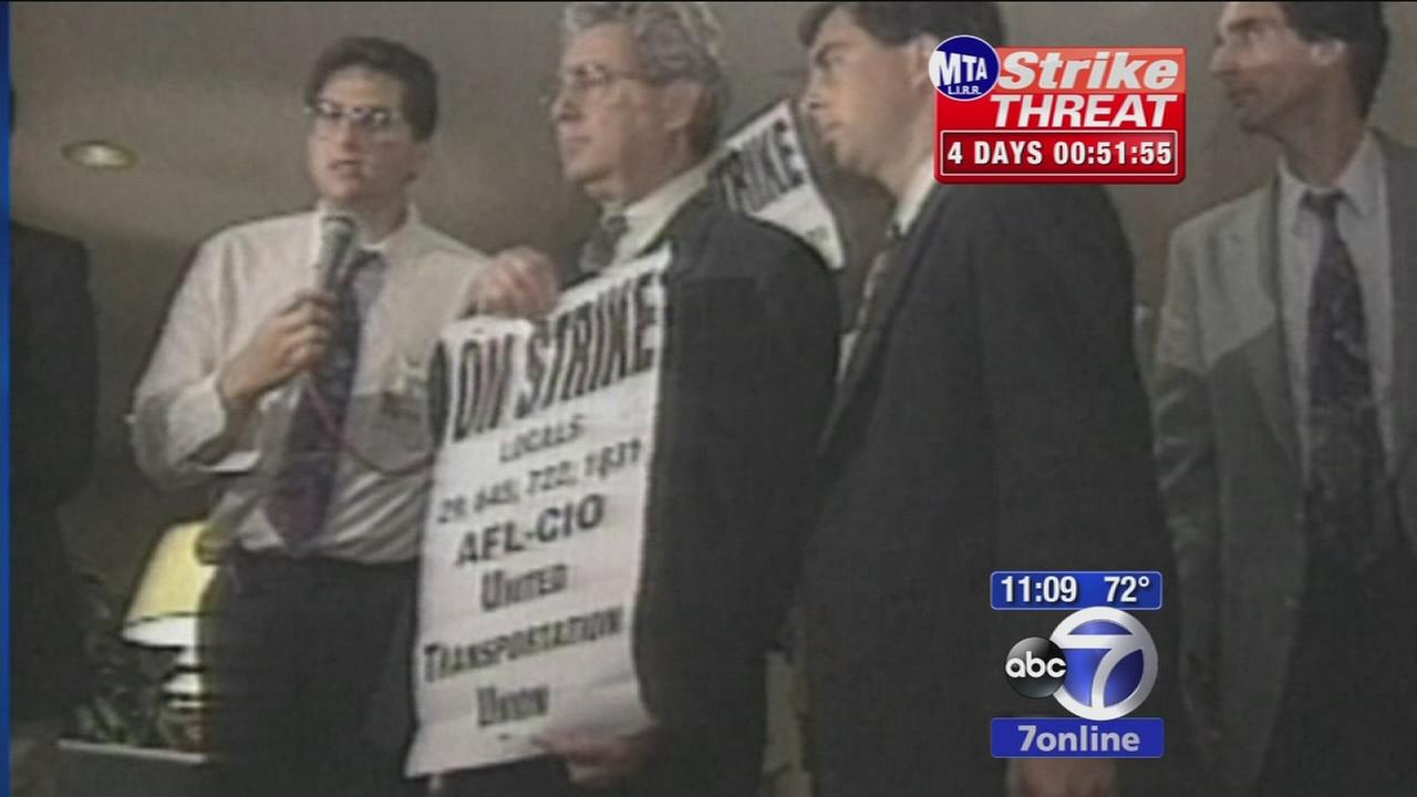 Comparing the LIRR strike in 94 to the situation now