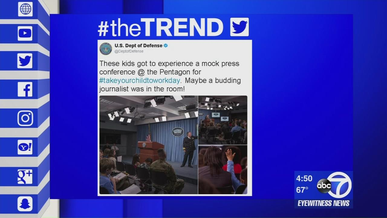 The Trend: Bring your Children to Work Day