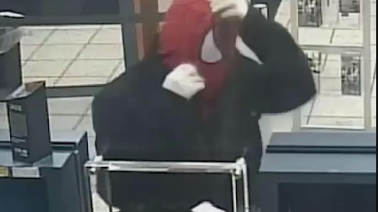 Man wanted for robbing two locations wearing Spider-Man mask