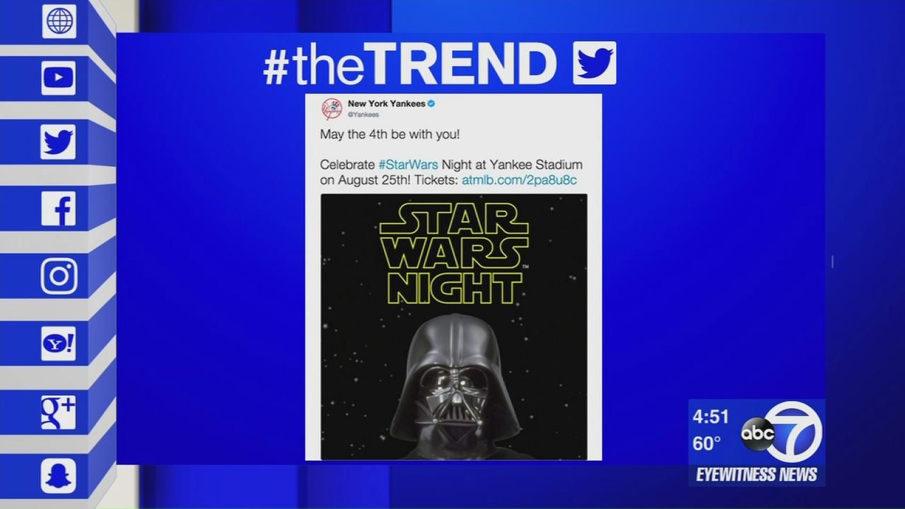 The Trend: Star Wars day, Ed Sheerans new video, and special reaction to youn girls prosthetic leg