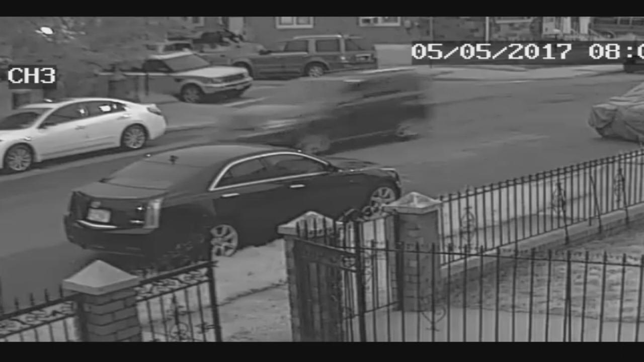 Surveillance video of vehicle wanted in hit-and-run in Queens