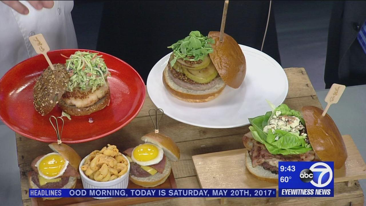 Burger month with Chef Eric Levine