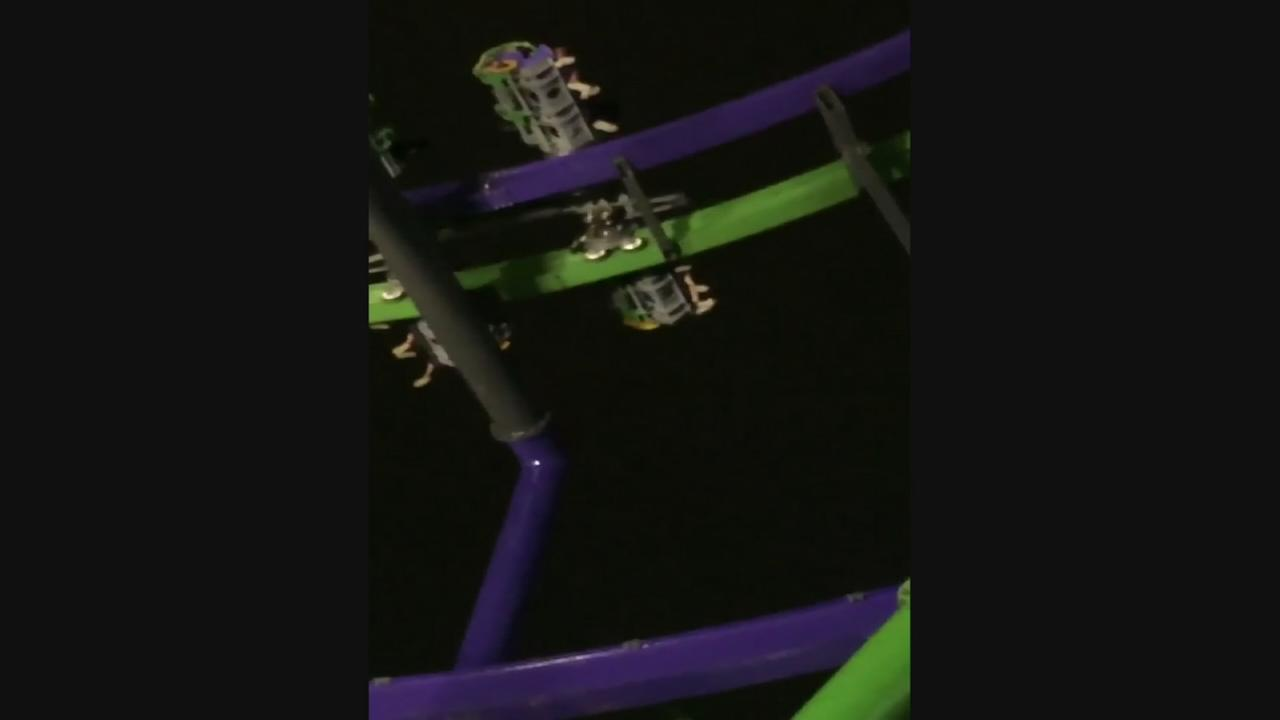 Riders rescued after coaster stops at Six Flags Over Texas