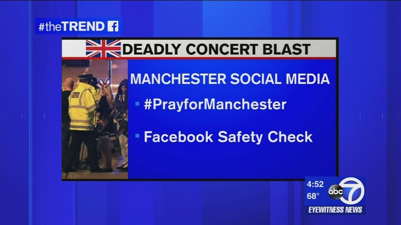 The Trend: Social media used to reunite loved ones after Manchester explosion