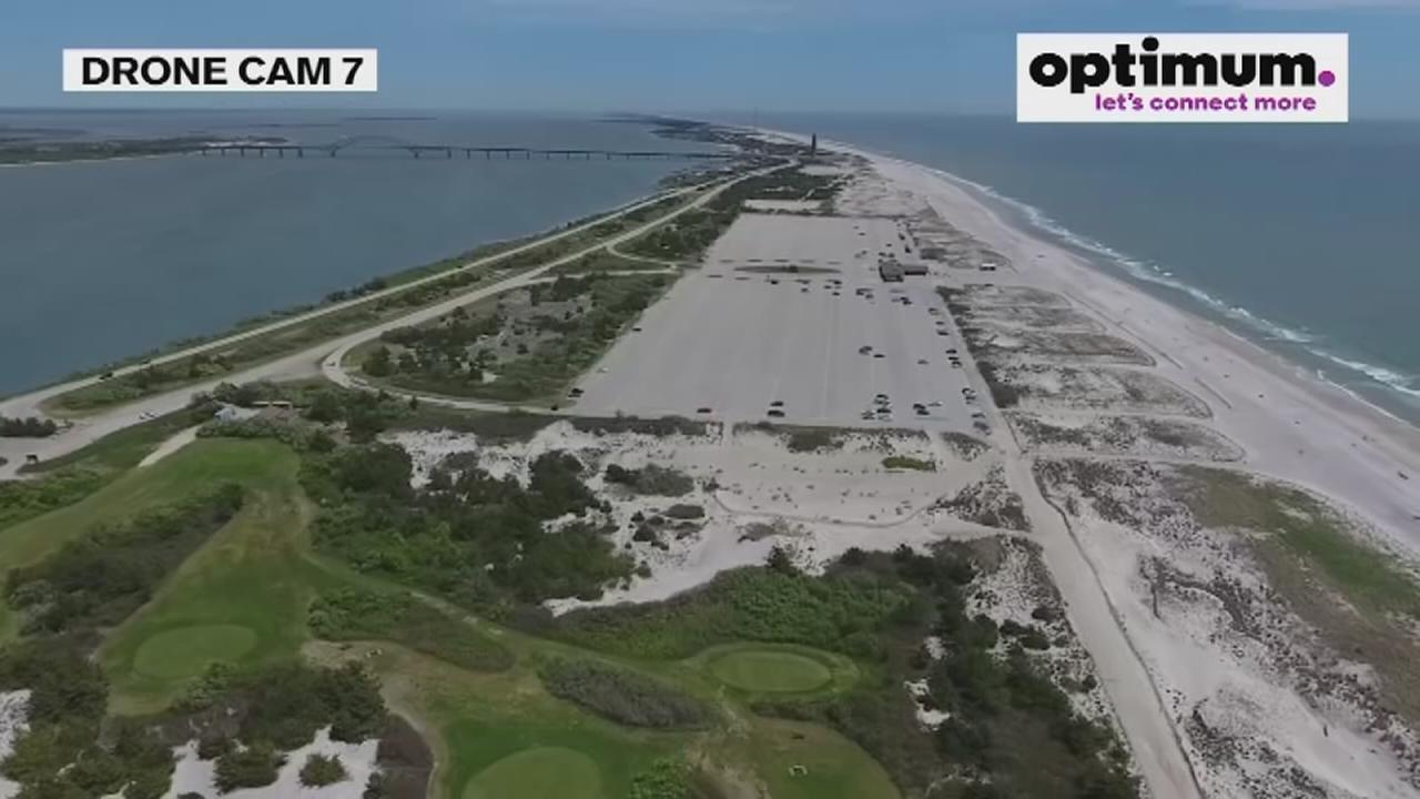 Drone Cam 7: Birdseye view of Jones Beach