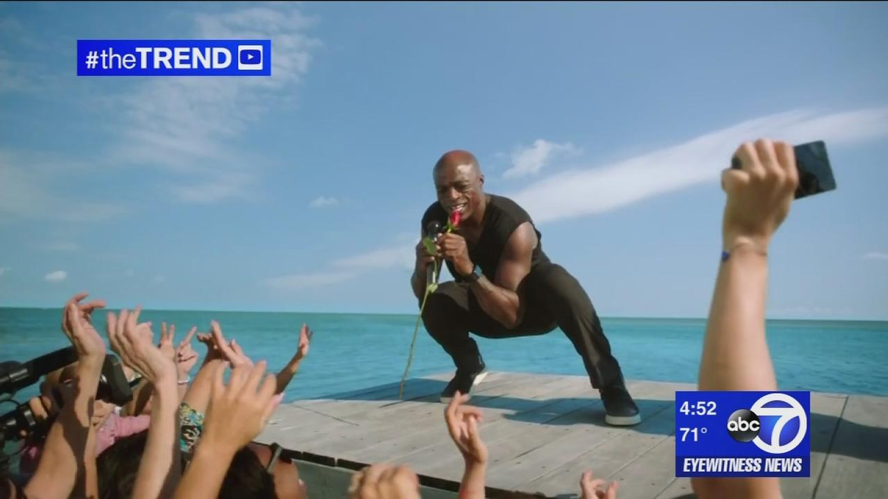 The Trend: Shark Week commercial featuring singer Seal