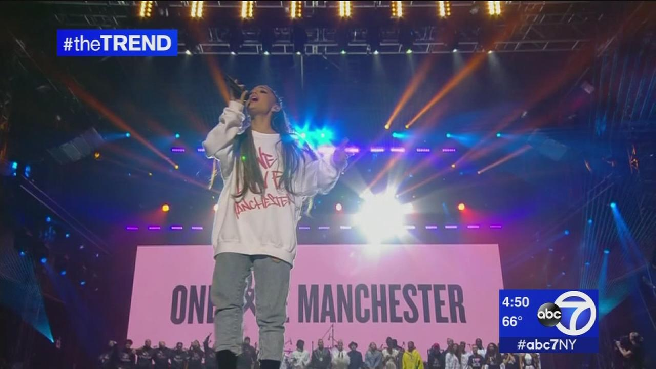 The Trend: One Love Manchester concert organized by Ariana Grande